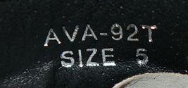 I Love Yo Kids AVA 92T Girls Fringe Boot Black Zip Up Size Five image 8