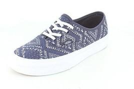 Vans Authentic Unisex Round Toe Canvas Blue Sneakers - $43.00