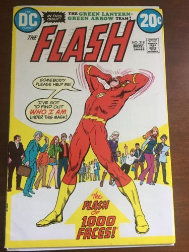 Flash (1959 1st Series DC) #218 Nick Cardy Cover