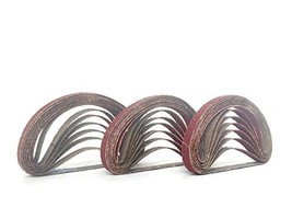 3/8 Inch X 13 Inch Aluminum Oxide Cloth Sanding Air File Belts(30 Pack, ... - $35.28