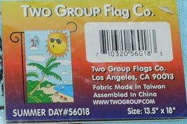 Two Group Flags Co 56018 Summer Day Decorative Garden Window Flag image 4