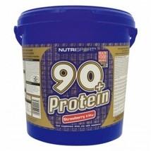 Nutrisport - 90+ Protein - Raspberyy - 5Kg - $120.47