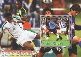 Soccer Sports Souvenir Sheet Mint NH - $16.25