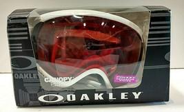 Oakley Canopy Ski Goggles MATTE WHITE PRIZM ROSE ENHANCED VISION - $134.19