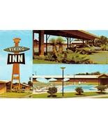 WACO, TX Texas  VIKING INN  Multi w/POOL  McLennan Co  ROADSIDE Chrome P... - $5.19