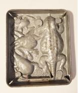 creepy crawler bugs lizard mold metal insect vintage toys mattel 1964 - $9.99