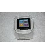 Apple iPod Nano 6th Generation 8GB Silver MC525LL/A AAC WAV MP3 Media Pl... - $227.89