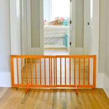 Oak Step Over Pet Safety Gate Home Expandable Design Doorway Cardinal Ga... - $96.03