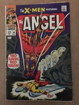 X-MEN #44 1968 Marvel Comic Book VG (5.0) Condition Beast / Red Raven / ... - $27.29