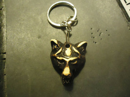 FUROCIOUS WOLF KEYCHAIN   (14537)   >> C/S & H AVAILABLE  - $4.95