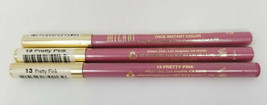 Lot of 3 Milani Color Statement Lip Liner in 13 PRETTY PINK - $7.38