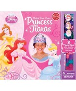 Klutz Make Your Own Princess Tiaras Craft Kit - New - $12.20