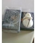 2 Dept 56 Snowbabies Ornaments - Acrylic Moon and Bisque Figure Jinglebaby - $6.43