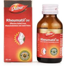Dabur Rheumatil Oil (50 x 2 ml) Pack of 2, 100% Ayurvedic and Herbal product. - $22.99
