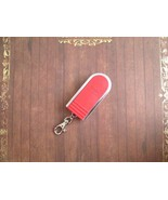NEW ZIPPO Slide Lid Portable Pocket Ashtray & Clasp Red, Great Father's ... - $22.80
