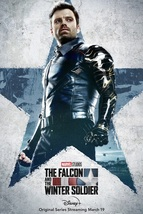 The Falcon and the Winter Soldier Poster Sebastian Stan TV Series 2021 A... - $10.90+