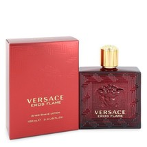 Versace Eros Flame by Versace After Shave Lotion 3.4 oz (Men) - $55.00
