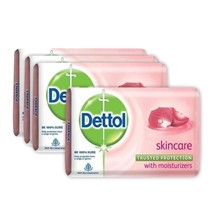 75 gm X 8 Piece 100 % Pure Dettol Skincare Soap  Free Shipping - $20.23
