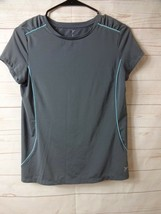 Active by Old Navy Womens Size XL 14 Grey w/Tourquise Accent Athletic Sh... - $8.99