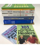 Lot of 9 Bottom Line Lines Books Encyclopedia of Natural Healing Health BK3 - $19.95