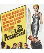 "LANA TURNER ""By Love Possessed"" Genuine MINT Vintage Movie Poster 27x41""... - $125.10"