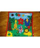 Activity PlayMat Jungle Safari Play Mat Rug Tummy Sitting NWOT infants t... - $11.88
