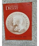 John F. Kennedy, January-February 1961 Democratic Digest - Spec. Inaugur... - $9.80