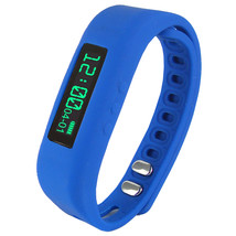 Supersonic 0.91 Fitness Wristband With Bluetooth Pedometer, Calorie Coun... - $45.77