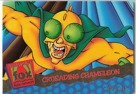The Tick Crusading Chameleon 1995 Fleer 27 Animated TV Series Trading Card - $21.28