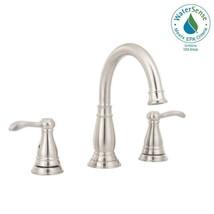 Delta Porter 8 in. Widespread 2-Handle Bathroom Faucet in Brushed Nickel - $114.99