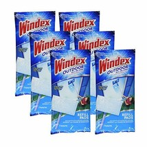 Windex All-in-One Window Cleaner Pads Refill - 2 ct (6 Pack) - $44.09