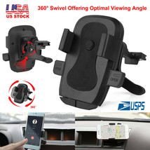 360° Rotation Car Air Vent Mount Holder Stand Cradle Snap For Most Cell ... - $6.95