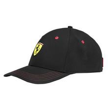 Puma Ferrari Sports Car Logo Wide Brim Dad Cap Snap Back Black Baseball Hat image 1