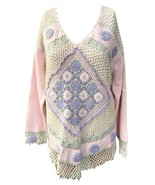 Jamie S Casuals Gorgeous Crochet & Beaded Detailed Sweater  Size Med  NE... - $44.99