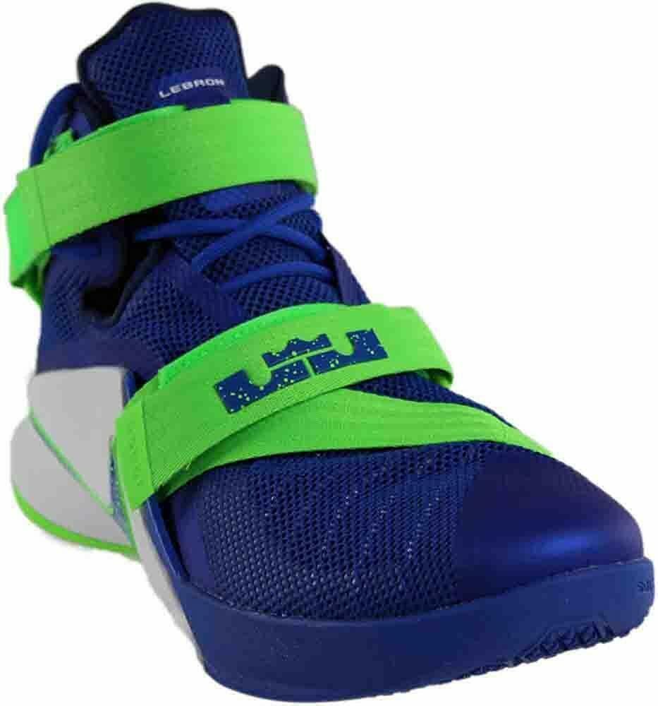 Nike Lebron IX 9 Soldier Sprite Game Blue/Green 749417-601 Mens Basketball image 3