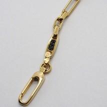 Armband Gold Gelbgold 18K 750,Röhren und Oval Wechselblinker,mit Zirkonia - $889.83