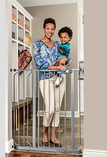 Regalo Easy Step Extra Tall Walk Thru Baby Gate Bonus Kit