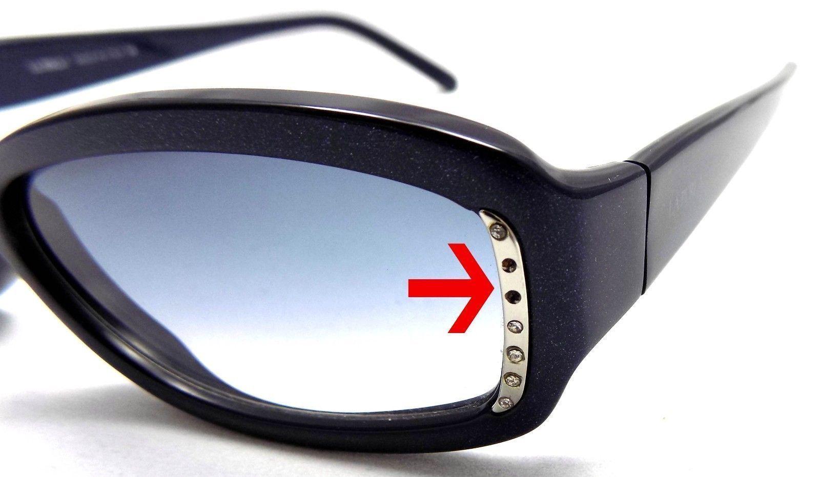La Perla Sunglasses SPE 077S 55 V21 Blue Frame 55x16x135 Blue Gradient ITALY