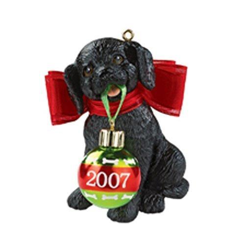 "Carlton Heirloom ""Puppy Love"" Christmas Ornament - Dated 2007 #CXOR-047R - $25.00"