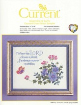 NEW Current  WINDOWS OF FAITH COUNTED CROSS STITCH KIT  CODE 91152-5 - $11.99