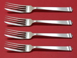 """Hampton by Tiffany and Co Sterling Silver Fish Fork Set 4pc AS Custom Made 7"""" - $683.05"""