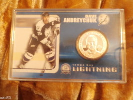 DAVE ANDREYCHUK  2004 SILVER COLLECTIBLE COIN - $40.00