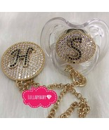 Avent Initials Pacifier and Clip - $40.00+
