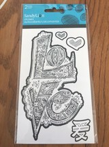 Color Me Love Foil Stickers - 2 Sheets. - $3.94