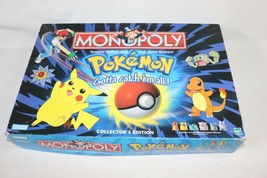 Incomplete 1998 Monopoly Pokemon Game Parker Brothers - $19.99