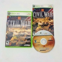 The History Channel: Civil War - A Nation Divided (Microsoft Xbox 360, 2... - $9.85