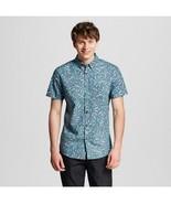 Men's Hawaian Palm Leaf Shirt Cotton Short Sle... - $13.99