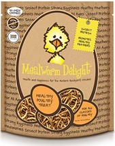 Treats For Chickens Mealworm Delight Treat, 1-Pound, 6 Oz