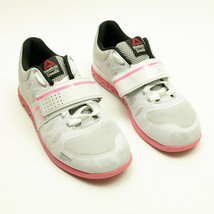 Reebok Crossfit Womens CF74 Pink White Lifting Training Shoes Size 8.5 - $29.39