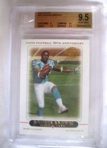 Ronnie Brown RC 2005 Topps Rookie Card#411 GEM MINT BGS 9.5-Dolphins RB RC - $39.59